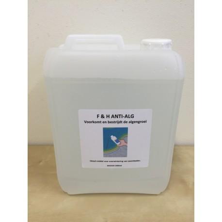 Anti Alg F& H voor zwembad en jacuzzi 5 liter